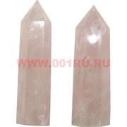 Кристалл 7,5 см из розового кварца 6-гранный