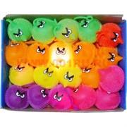 Светящиеся мордочки Angry Birds 24 шт (энгри бердс) 24 шт/уп