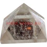 Пирамида из хрусталя малая 3 см