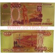 Янтра 5000 рублей двухсторонняя из металлизированного пластика