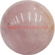 Шар из розового кварца 3,5 см (1 размер)
