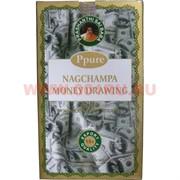 Благовония Ppure Nagchampa Money Drawing 15 гр, цена за 12 штук (Привлечение денег)