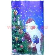 Пакет подарочный новогодний 30х50 см, цена за 100 шт