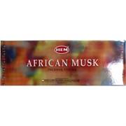 """Благовония HEM """"African Musk"""" (африканский мускус) 6 шт/уп, цена за уп"""