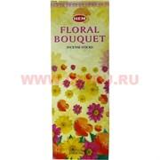 """Благовония HEM """"Floral Bouquet"""" (цветочный букет) 6 шт/уп, цена за уп"""