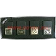Зажигалка бензиновая Jantai «Военная тематика» цена за 4 шт
