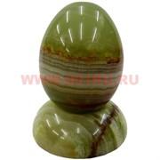 Яйцо на подставке из оникса 8 см, 12 шт\уп