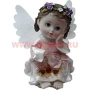 Ангелочек с крылышками 14 см, полистоун (KL-467)