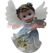 Ангелочек с крылышками  9,5 см, полистоун (KL-480)