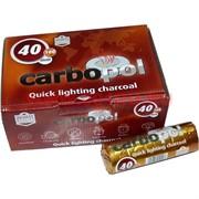 Уголь для кальяна CARBOPOL 40 мм в таблетках 100 штук