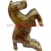 Конь на дыбах из оникса 11 см (4 дюйма)