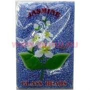 Бисер №6 (3,6 мм) голубой №168 перламутровый 450 грамм