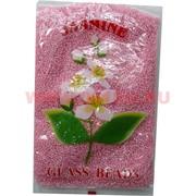 Бисер №6 (3,6 мм) розовый №285Р перламутровый 450 грамм