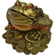 Жаба Феншуй из бронзы 14 см