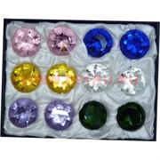 Кристалл Бриллиант 4 см стеклянный 12 шт/уп