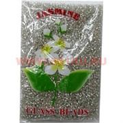 Бисер №6 (3,6 мм) серебрянный №21 зеркальный 450 грамм