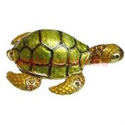 "Шкатулка со стразами ""Морская черепаха"""
