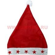 Колпак Санта Клауса со светящимися звездами цена за 12 шт