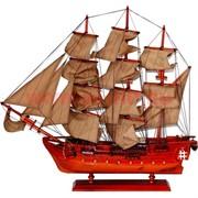 Корабль 60см, макет из дерева
