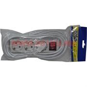 Удлинитель сетевой 7 м с выключателем