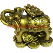 Нецке Жаба на слоне 12см, иммитация бронзы