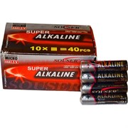 Батарейки алкалиновые Souser AAA 40 штук 1,5 V