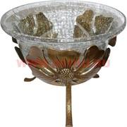 Чаша из латуни и стекла (Индия)
