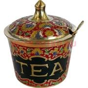 Емкость для чая из латуни (Индия)