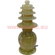 Лампа из оникса малая 20 см (Пакистан)
