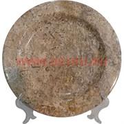 Тарелка из яшмы 20 см (Пакистан)