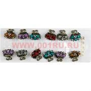 Заколки крабики сердечки (L-3100) цена за 12 шт