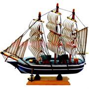 Корабль 24см деревянный макет