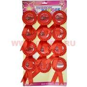 Значок 9 мая с красный с ленточками, цена за 12 шт
