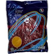 Шарик надувной Сердце 5 дюймов Кристалл Красное 100 шт