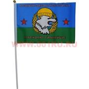 Флаг ВДВ 16х24 см (12 шт/бл) с надписью «Побеждают сильнейшие»