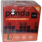 Уголь для кальяна Panda 48 кубиков (красная пачка)