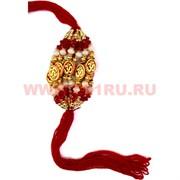 Браслет с красной ниткой и символом Ом цена за 12 шт