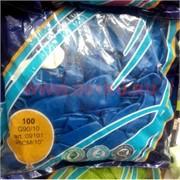 Шарики воздушные 10 дюймов (G90/10) пастель Blue 100 шт