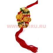Браслет «красная нитка» и символ Ом большой цена за 12 шт