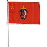 Флаг ВЧК-КГБ 30х45 см (12 шт/бл)