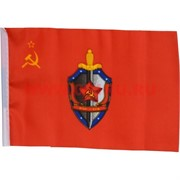 Флаг ВЧК-КГБ 90х145 см без древка (10 шт/бл)