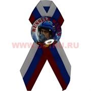 Значок с лентой РФ триколор «Russia Wings» Путин летчик