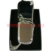 Зеркало косметическое, карманное, металлическое  (Z-1931)