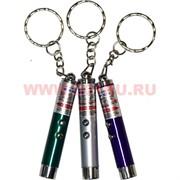 Брелок фонарик-лазер малый 24 шт/уп 1200 шт/кор