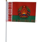 Флаг РБ Беларусь с гербом 20х30 см (12 шт/бл)