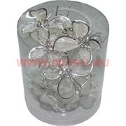 """Шпилька для волос """"бабочка со стразами"""" (CJ-1771) цена за 10 уп, 120 шт"""