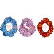 """Резинка для волос оптом """"цветочки"""" (KG-832) цена за 20 шт"""