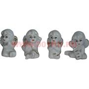 Ангелочки из фарфора 4 шт (KL-1207) цена за набор