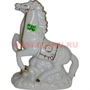 Конь из фарфора с цепочкой (KL-551) 18 см высота 48 шт/кор