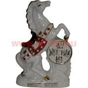 Конь из фарфора на монете 16 см